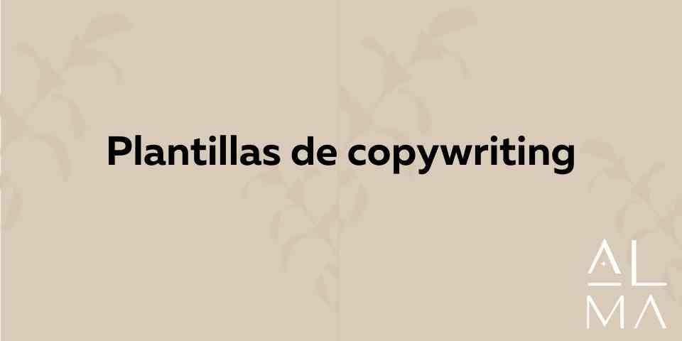 Plantillas de Copywriting